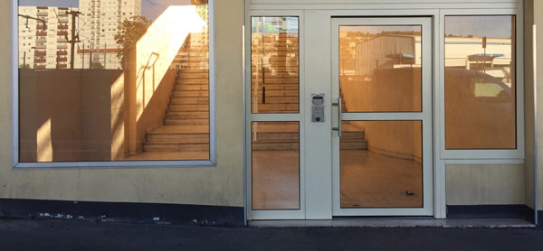 Portes hall d'entrée
